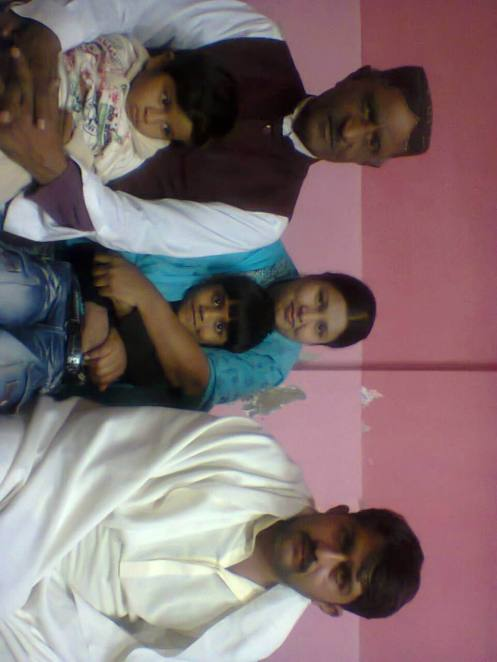me with my daughter benazir and her husband raja gahoti with their children on6 jan 2014