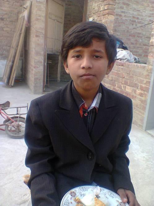 my grand son yasir abbas