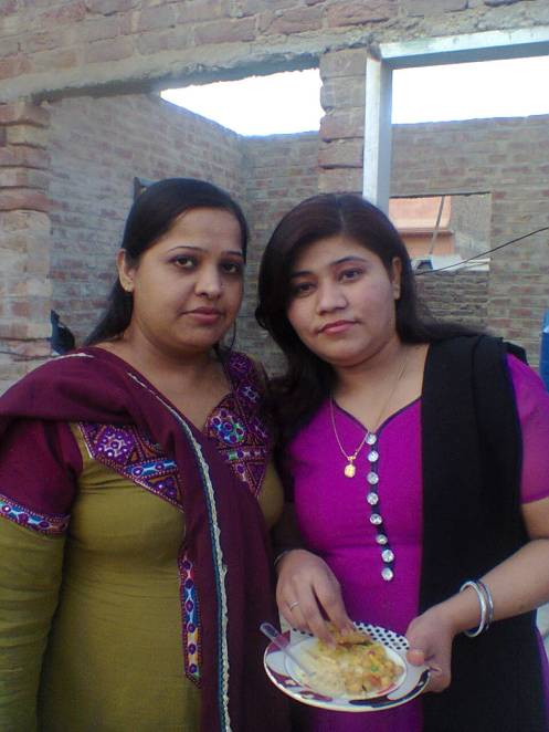my daughter shabana and daughter in law shahzadi