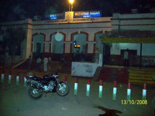RAILWY STATION MUZAFARNAGAR