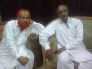 me and allah rakhyo naeem at badin press club on 18 may 2014