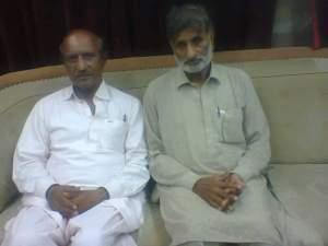 me and majeed mallah at press club badin on 18 may 2014
