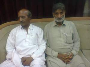 me with majeed mallah at press club badin on 18 may