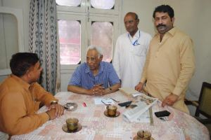 with malik aziz ashraf noonari and dilshad bhutto